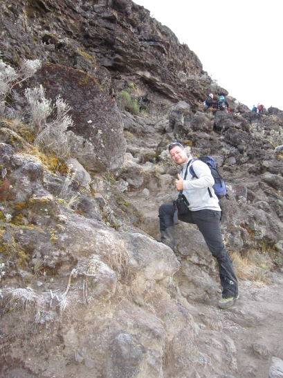 Climbing Kilimanjaro 7 Day Machame Route - Day 5 Karanga Camp