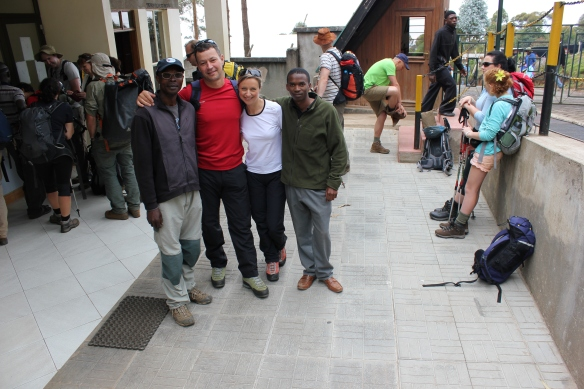 Day 2 Machame Gate - Climbing Kilimanjaro