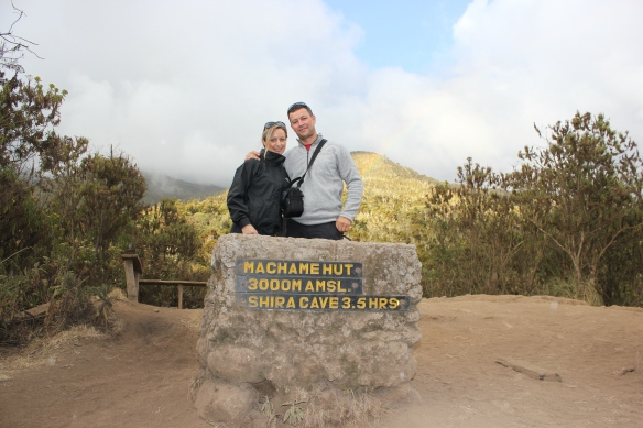 Arriving at Machame Camp - Climbing Kilimanjaro 7 day Machame Route with Equatours Limited and Big Expeditions