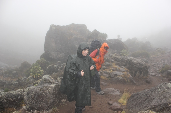 Climbing Kilimanjaro 7 Day Machame Route Day 4 Barranco Camp
