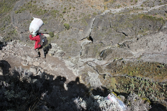 Climb Kilimanjaro 7 Day Machame Route Day 6 Barafu Camp