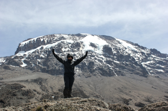 Climbing Kilimanjaro 7 Day Machame Route - Day 5 Karanga Camp