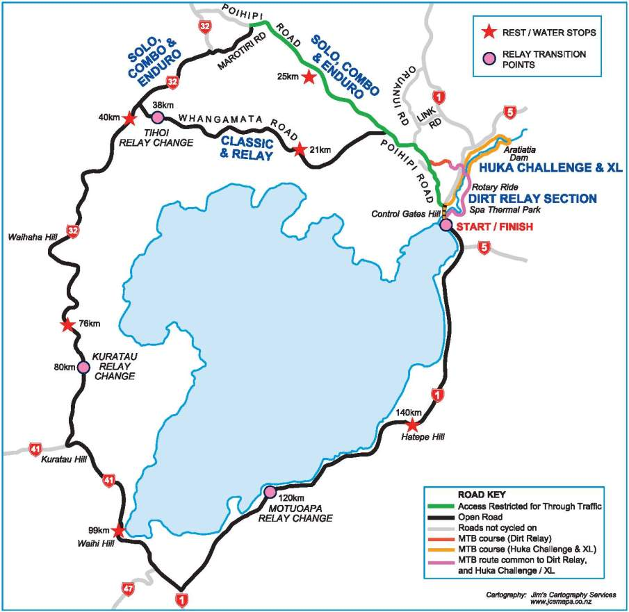 Contact Lake Taupo Cycle Challenge 2013 New Zealand