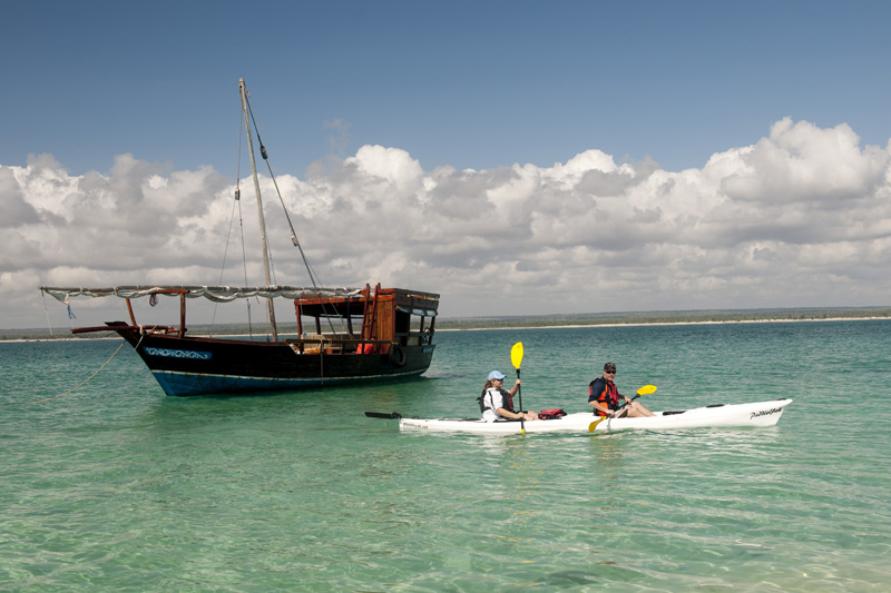 Kayaking Ibo Island Lodge Mozambique