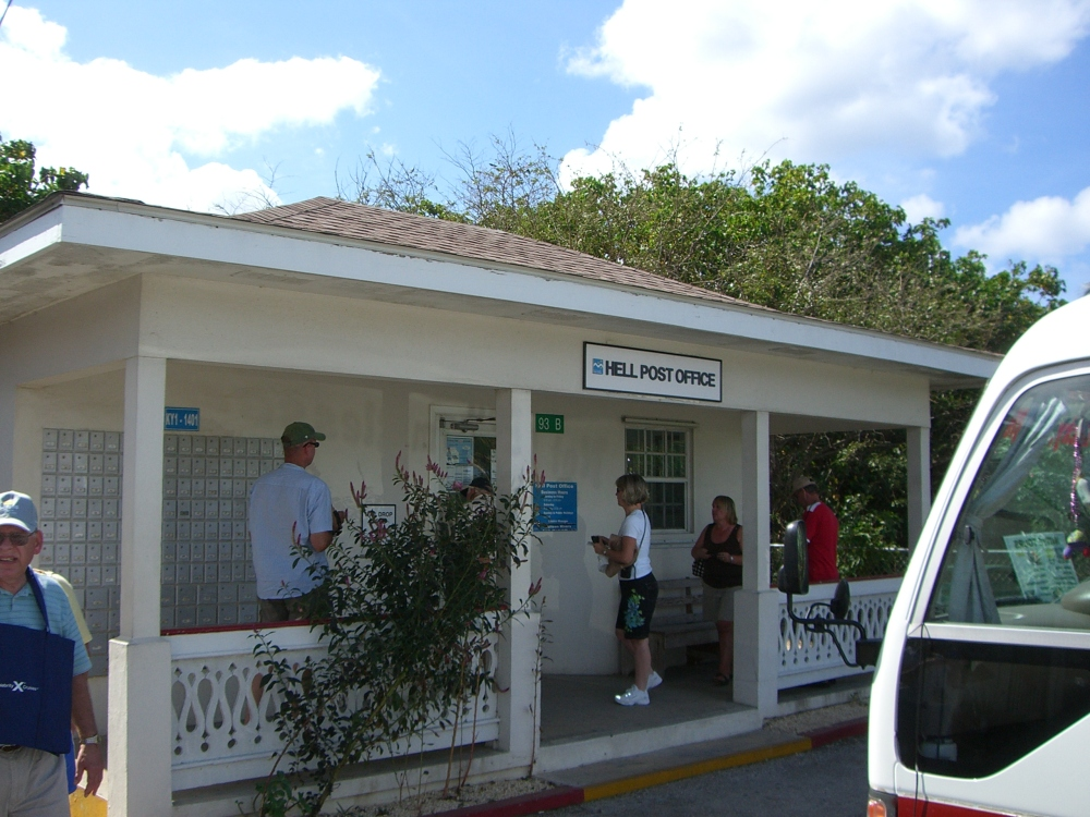 Hell Post Office Grand Cayman